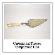 Polaroid-layers- ceremonial trowel