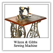 Wilcox and Gibbs Sewing Machine