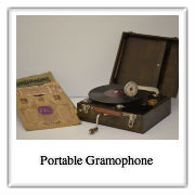 Polaroid-Portable Gramophone
