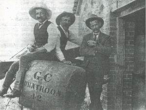 Duntroon Wool Clip c1903 Ernest Hisdon Manager, Willaim Mayo woolclkasser; Ernest Davis Boss of the Board_2