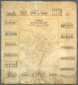 Map - Briand Plan of Queanbeyan_2