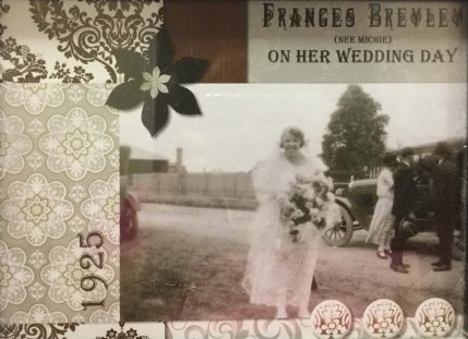 cropped scrapbook wedding day